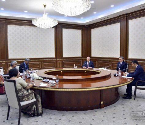 Ouzbékistan Inde ministre Chavkat Mirzioïev Sushma Swaraj