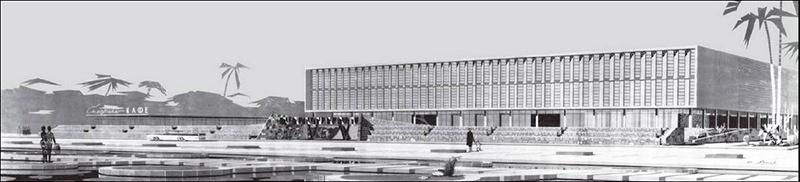 Architecture Monuments historiques Asie centrale Brutalisme Brutaliste Restauration Destruction Bibliothèque Achgabat