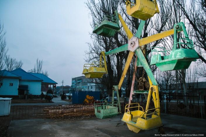 Jarkent Kazakhstan Ville Frontière Chine Jardin d'enfants attraction