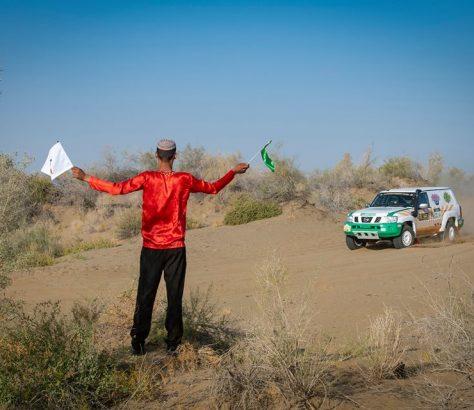 Rallye Amoul Khazar Sport automobile Turkménistan