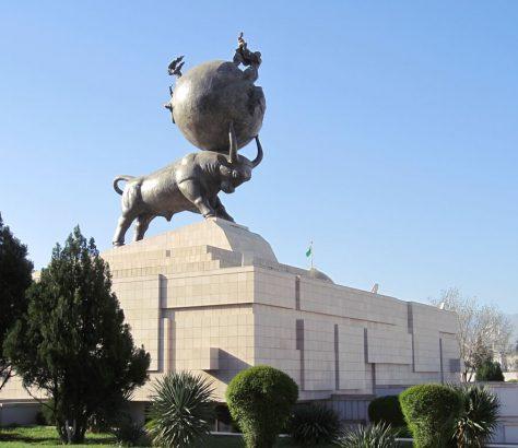 Turkménistan Achgabat Monument Tremblement du terre