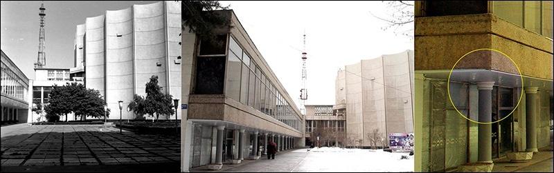 Architecture Monuments historiques Asie centrale Brutalisme Brutaliste Restauration Destruction Palais des Arts