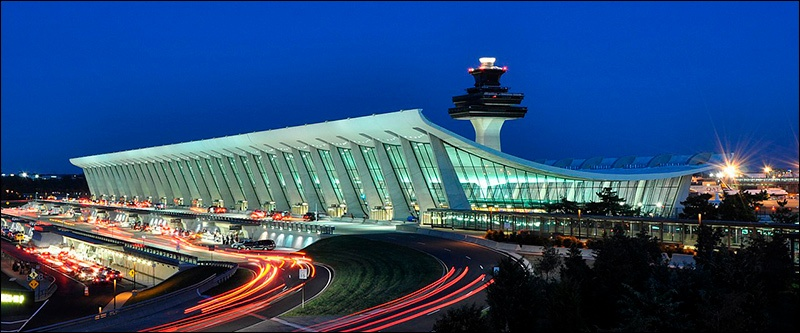 Architecture Monuments historiques Asie centrale Brutalisme Brutaliste Restauration Destruction aéroport Washington-Dulles