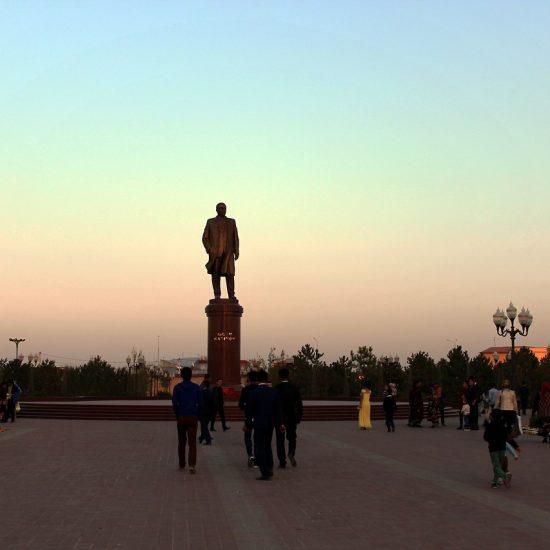Ouzbékistan Samarcande Islam Karimov Monument