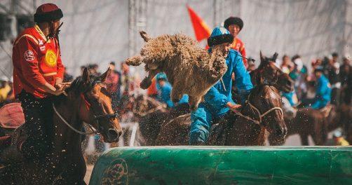 Jeux mondiaux Nomades 2018 Kok Boru