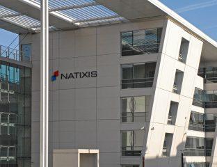 L'immeuble de Natixis à Charenton en France