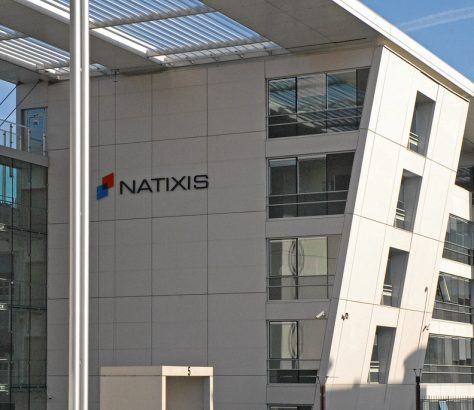 L'immeuble de Natixis à Charenton en France