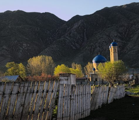 Saty Kazakhstan Tian-Chan Mosquée