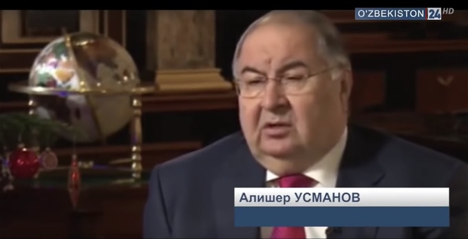 Alicher Ousmanov Oligarque Ouzbékistan Russie Ozbekiston 24 Interview