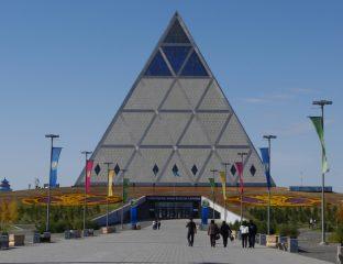 astana Pyramide Kazakhstan Palais