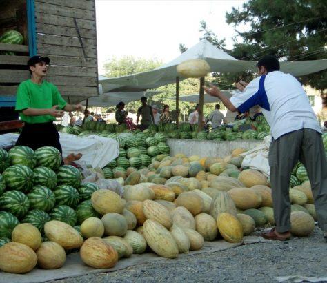 Melon à l'air