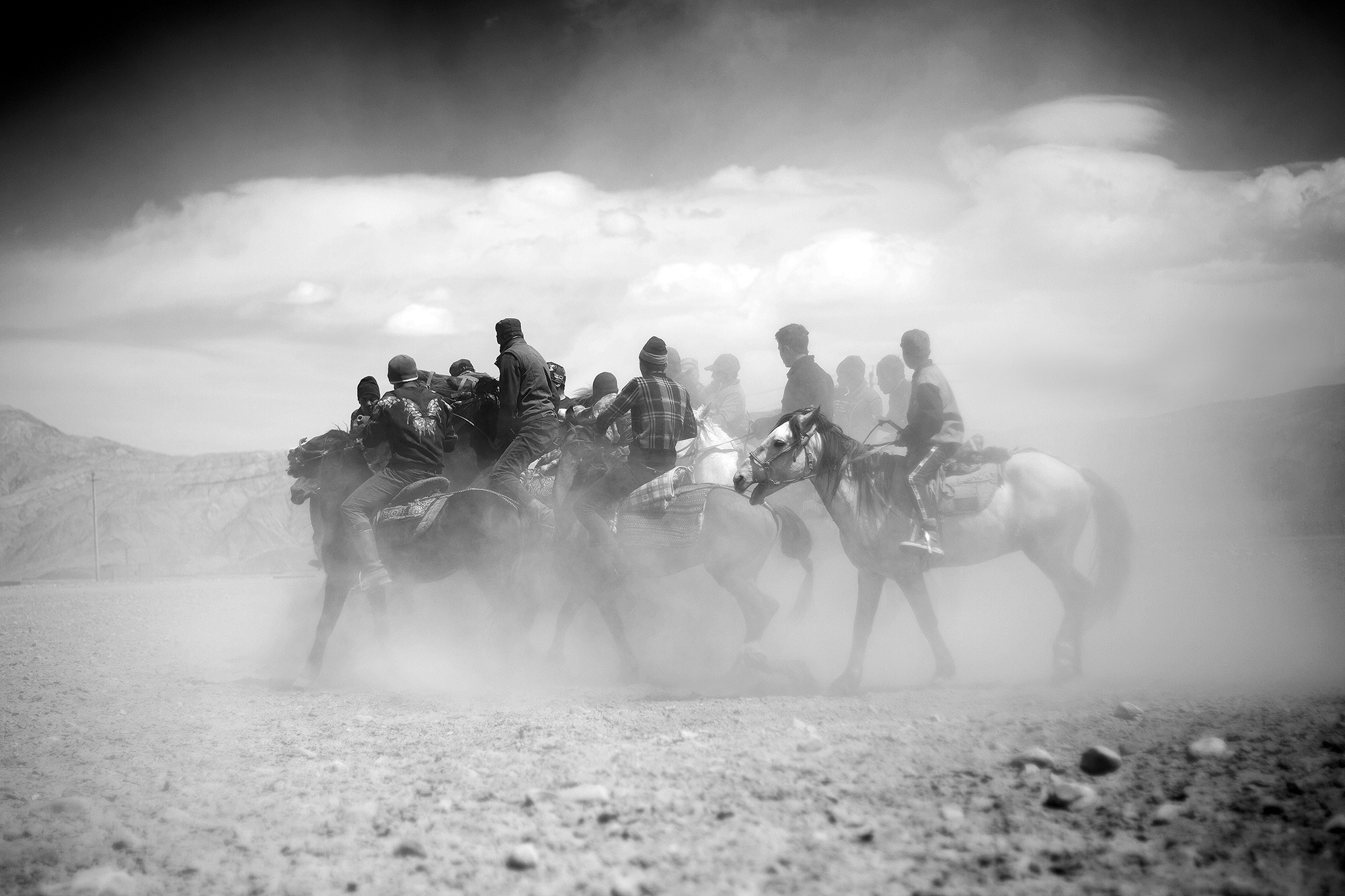 Xinjiang Région ouïghoure Maxime Crozet Identité Chine Bouzkachi