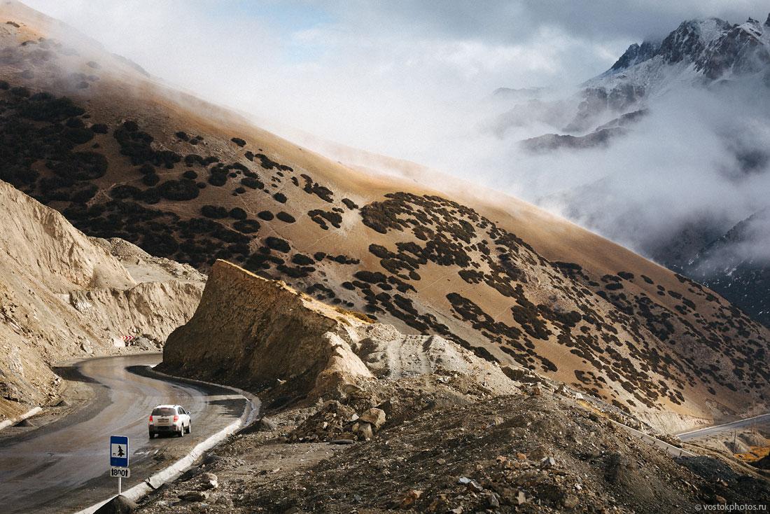 Kirghizstan Pamir Montagne Reportage Paysages Route Dégel Chaleur