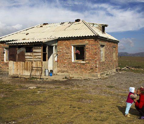 Torougart Kirghizstan Famille