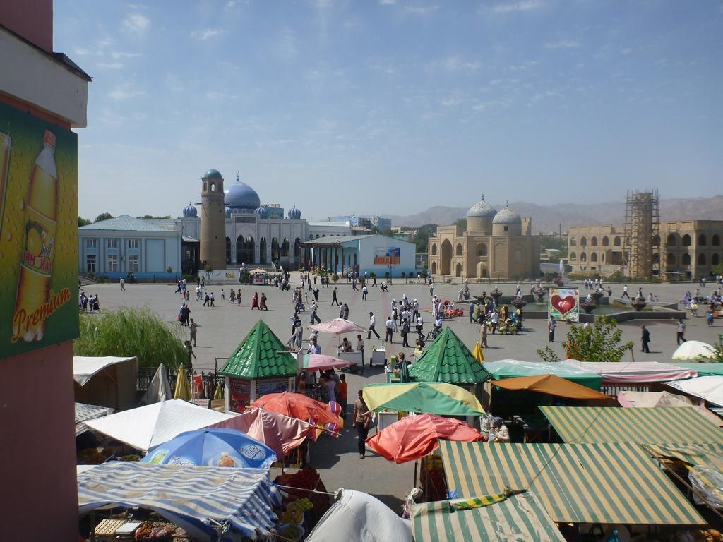 Khodjent Tadjikistan Marché Emeute Prison