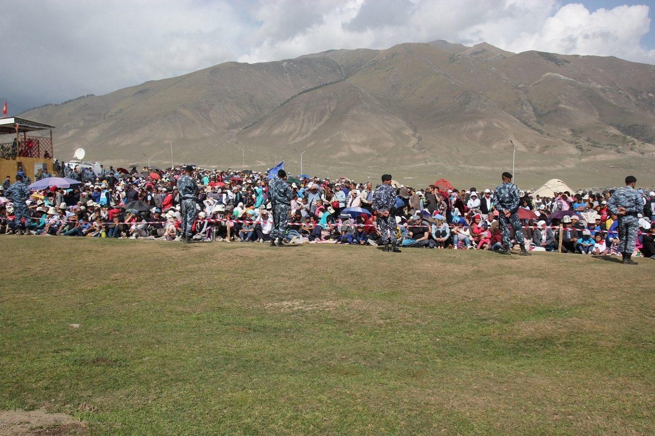 Déploiement Forces Sécurité Jeux Kirghizstan