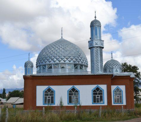 Mosquée Village Kirghizstan