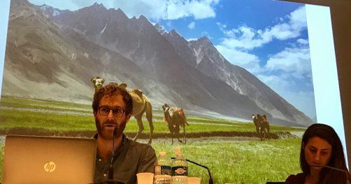Tobias Marschall et Suzy Blondin, deux chercheurs suisses présentent leur travail à l'Inalco le 27 novembre