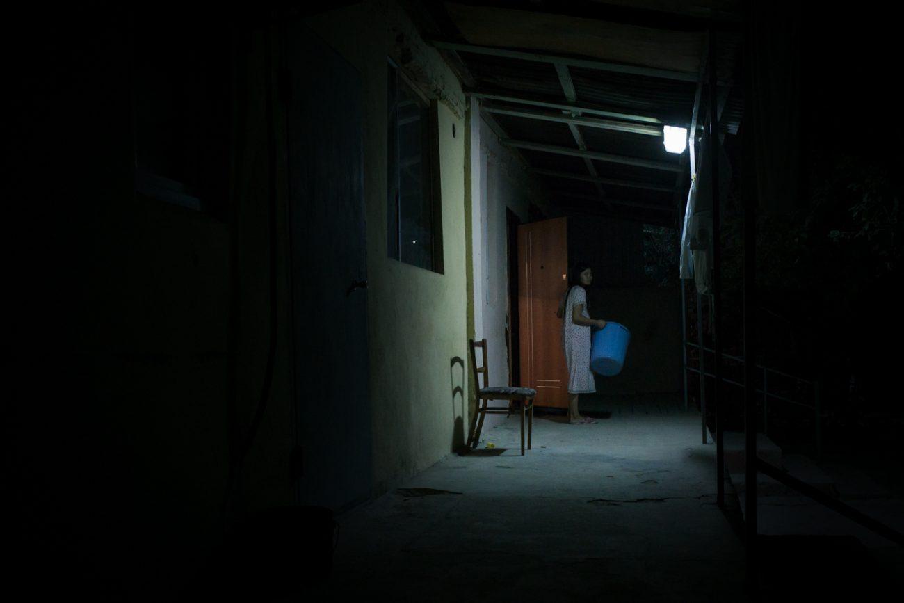 Ménage Aktau Kazakhstan Nuit