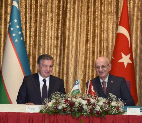 Ismail Kahraman Chavkat Mirzioïev Turquie Ouzbékistan Relations Influence