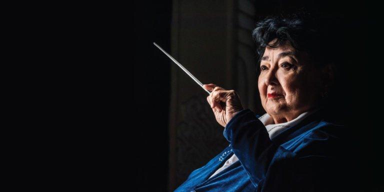 Ouzbékistan cheffe d'orchestre Dilbar Abdourakhmonova