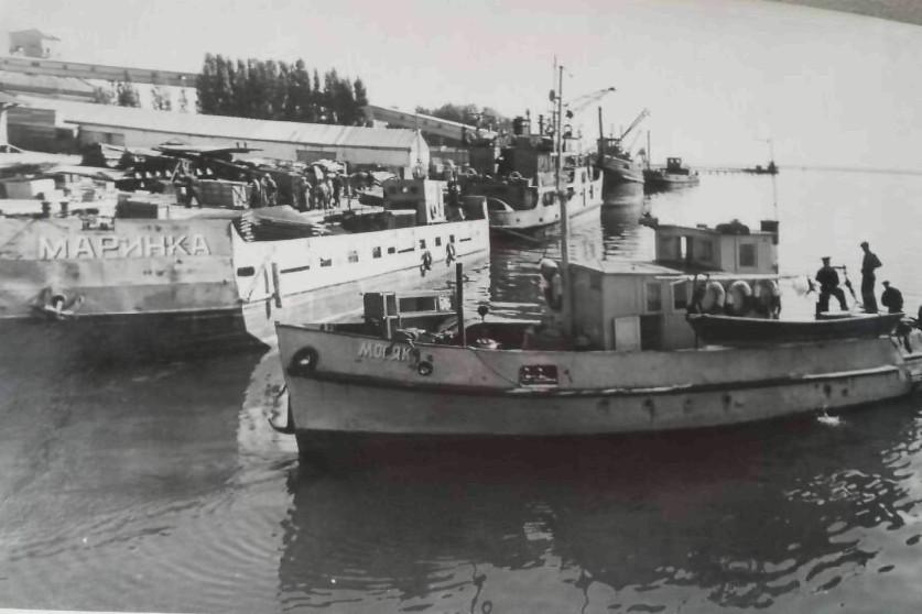 Issyk-Koul Compagnie de navigation Fret Kirghizstan Lac URSS