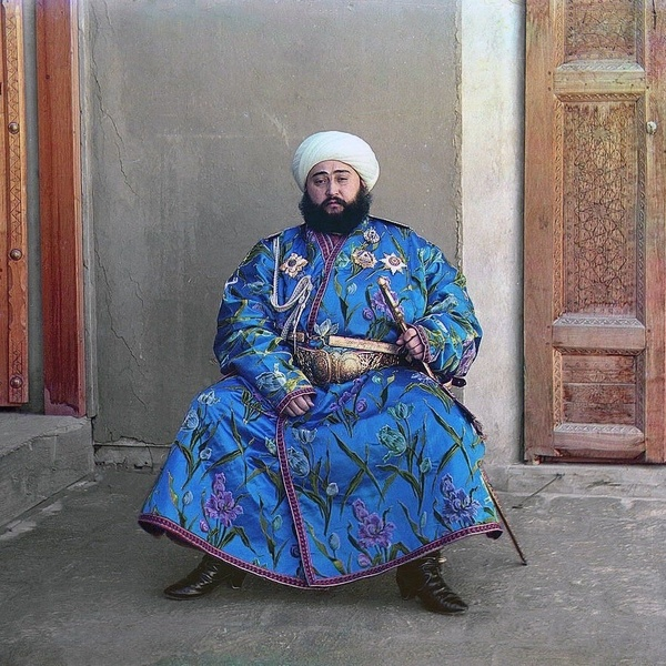 Asie centrale XXème siècle 1910 Voyage Sergueï Prokoudine-Gorski Empire russe Photographie Alim Khan Boukhara Ouzbékistan
