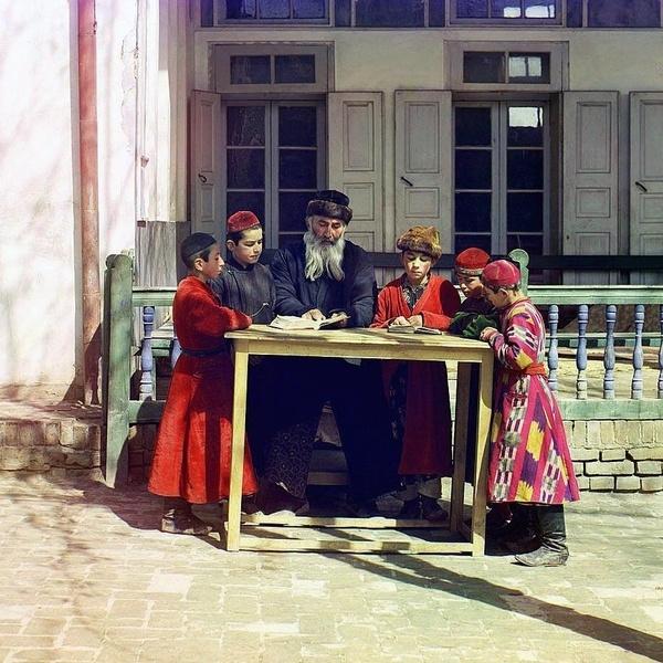 Asie centrale XXème siècle 1910 Voyage Sergueï Prokoudine-Gorski Empire russe Photographie Juifs Judaïsme Ouzbékistan