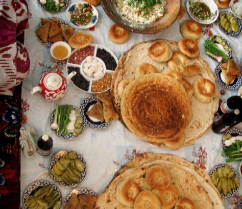 Tadjikistan nourriture
