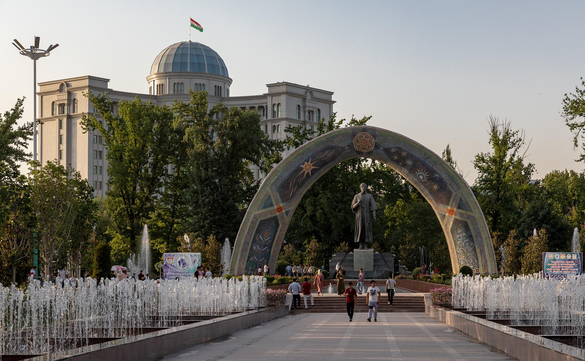 Tadjikistan Douchanbé Centre Economie