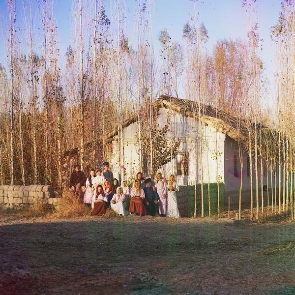 Asie centrale XXème siècle 1910 Voyage Sergueï Prokoudine-Gorski Empire russe Photographie Nadejdinsk Russes Steppe de la Faim