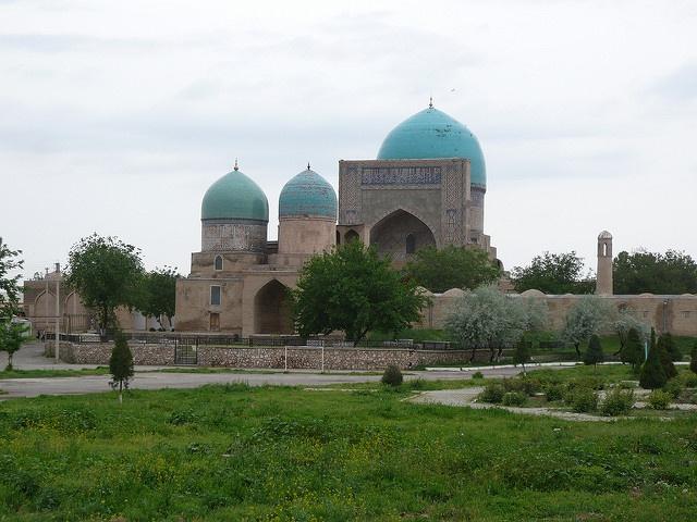 Mosquée Kok Gumbaz Ouzbékistan Chakhrisabz Kenegesses Dynastie Histoire oubliée