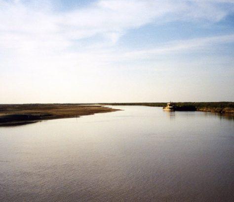 Amou Daria Turkménistan Ouzbékistan Asie centrale Fleuve Eau Environnement