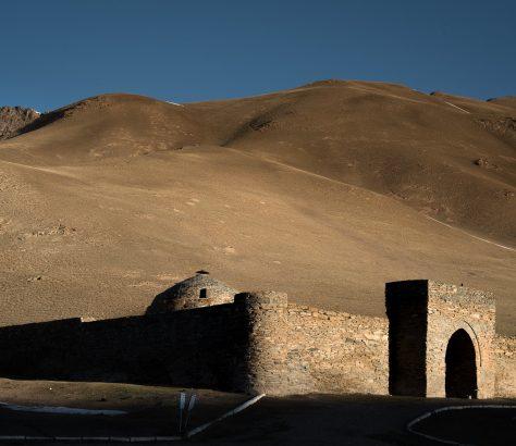 Tach Rabat Kirghizstan Caravansérail Route de la soie