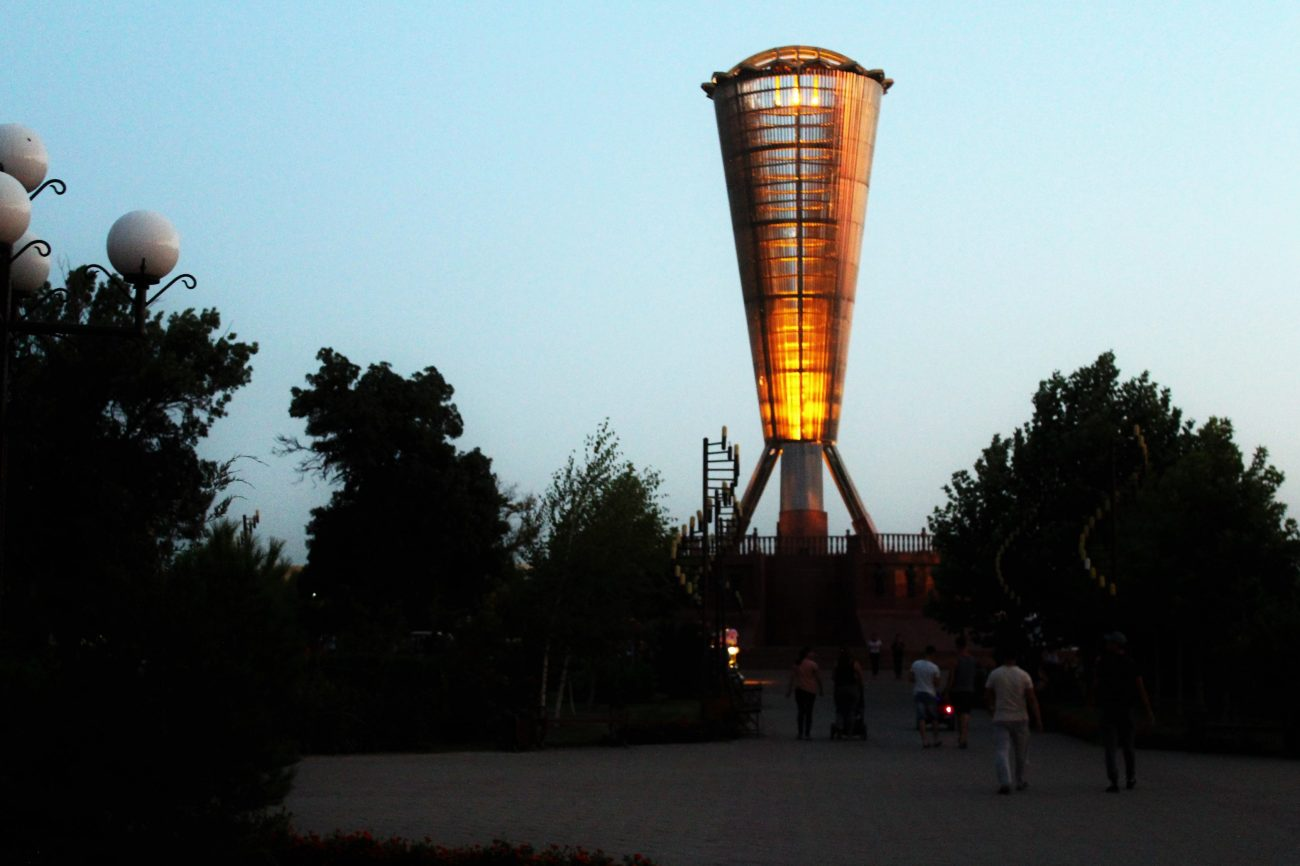 Kazakhstan Chymkent Altyn Chanyrak Parc de l'indépendance