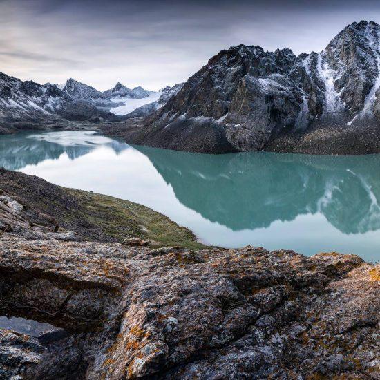Ala-Koul Lac de montagne Kirghizstan