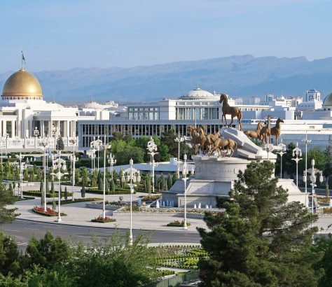 Achgabat Turkménistan Presse Télévision Information Turkmènes
