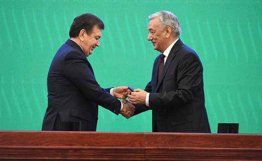 Chavkat Mirziyoiev licence présidentielle