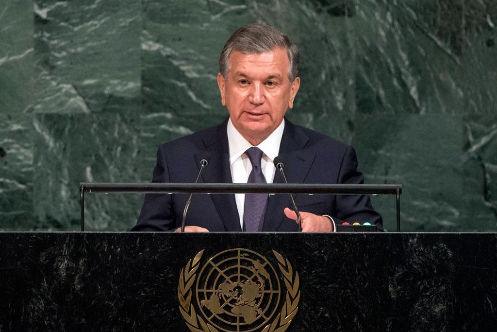 Chavkat Mirzioïev ONU