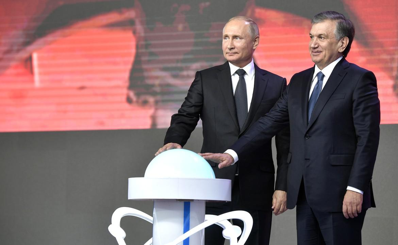 Chavkat Mirzioïev Poutine