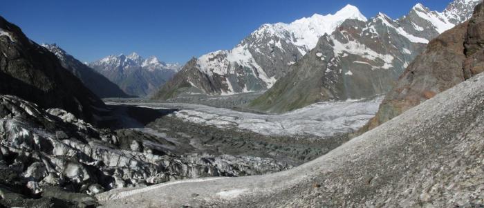 Glacier Pamir Lac