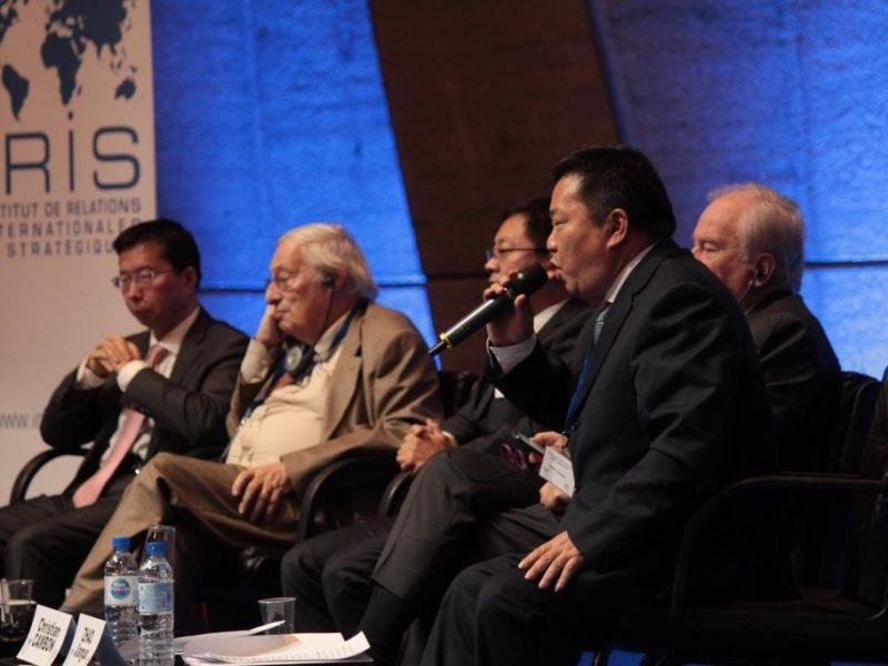 Nouvelles Routes de la Soie BRI Belt and Road Initiative Chine Géopolitique Infrastructures Projet Conférence Iris 10 janvier 2019