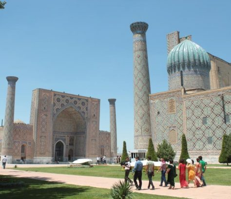 Samarcande Ouzbékistan Tourisme Visa Registan