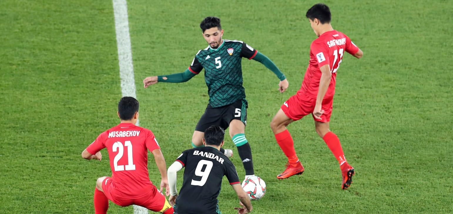 Kirghizstan Emirats match
