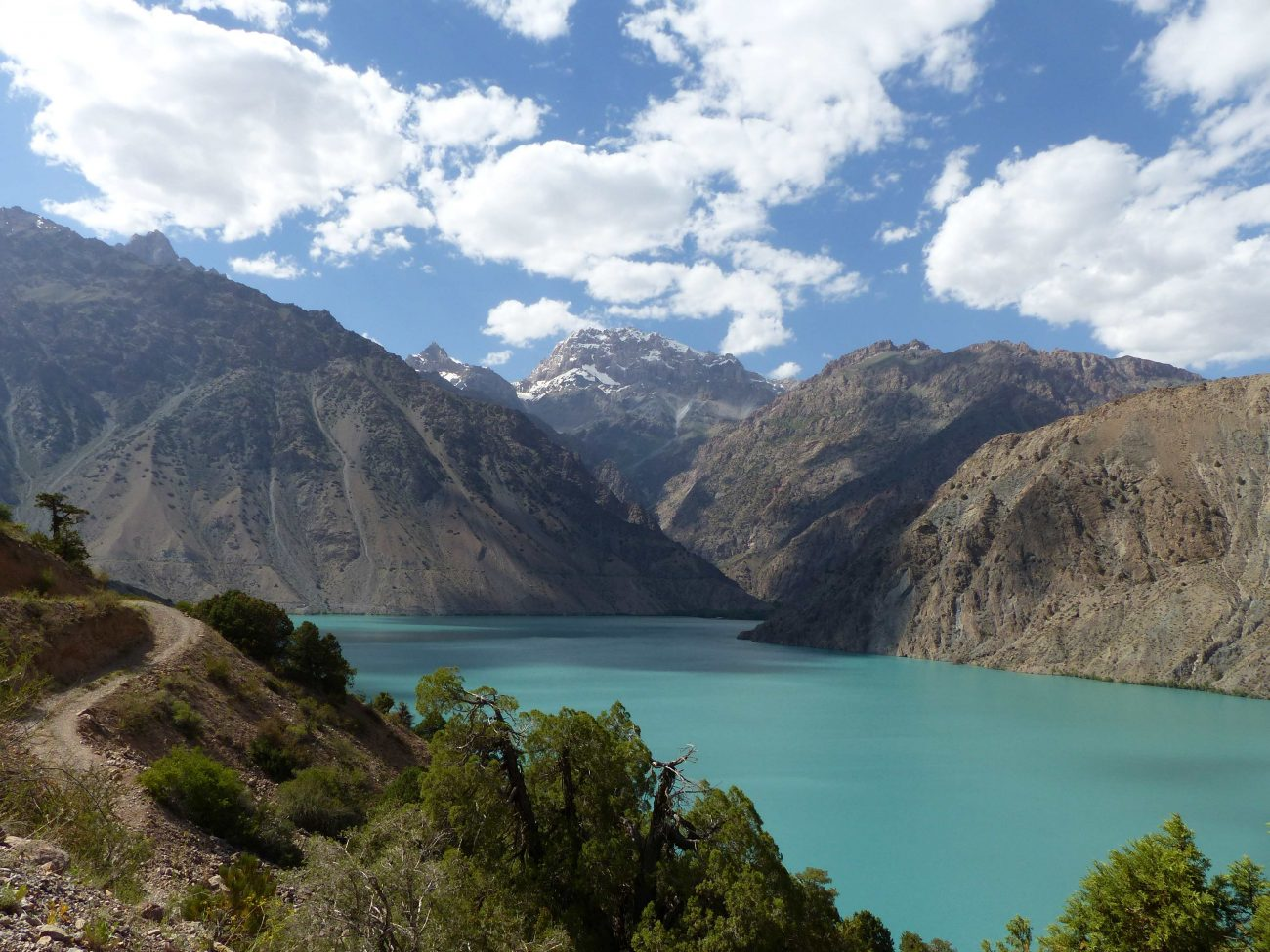En été, le lac est un lieu de repos apprécié de la population.