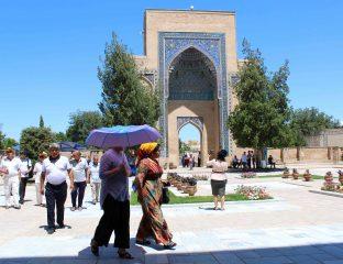 Samarcande Gur-e-mir Ouzbékistan