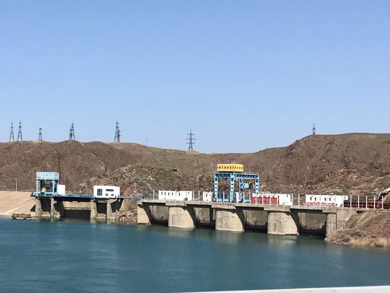 barrage Almaty Kazakhstan BigBlock Datacenter Cryptomonnaie Bitcoin