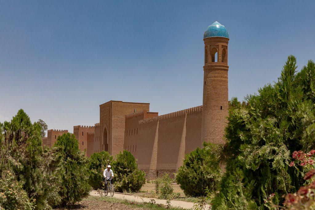 Palais Samanides Houlbouk Tadjikistan Citadelle