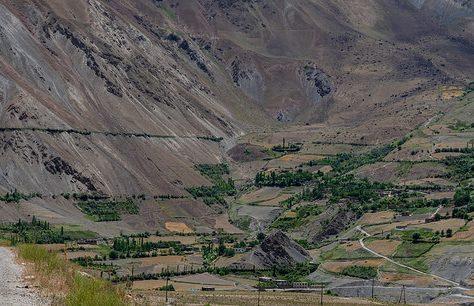 Photo du Jour Tadjikistan Militaire Frontière Afghanistan