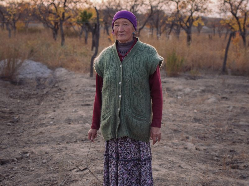 Tien Tran Femme Verger Kirghizstan Photo du Jour Bokonbayevo